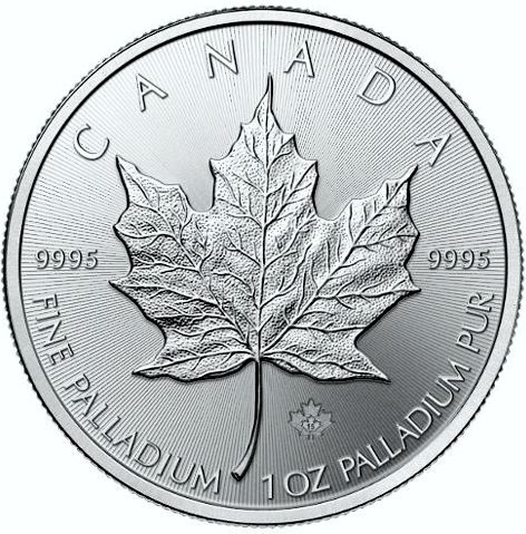 palladium maple leaf