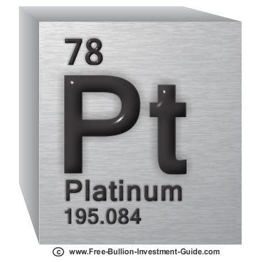 platinum periodic chart