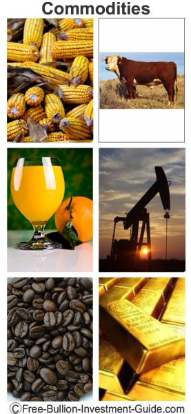 samples of commodities