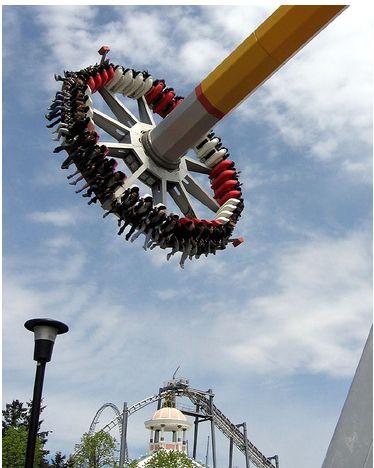 swinging pendulum ride