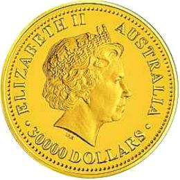 ten kilo gold lunar