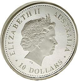 10 Oz Australian Lunar Silver Coin Bullion Series I Amp Ii