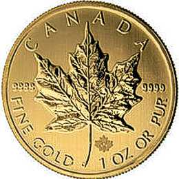 one oz maple leaf