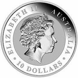 ten oz silver koala