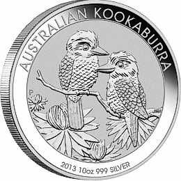 ten oz silver kookaburra