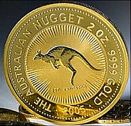 The Australian Gold Nugget Two Ounce Bullion Coin