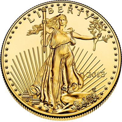 1 4 Oz American Eagle Gold Bullion Coin