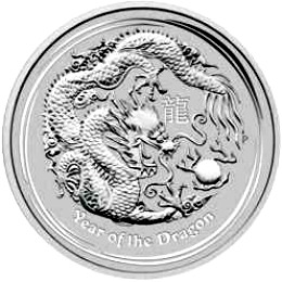 2012 series 2 - silver lunar dragon