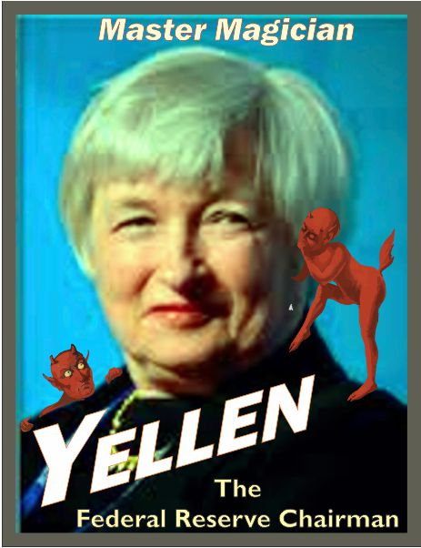 master magician - Janet Yellen - federal reserve chairman