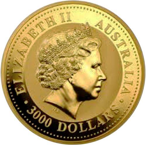 one kilo gold lunar