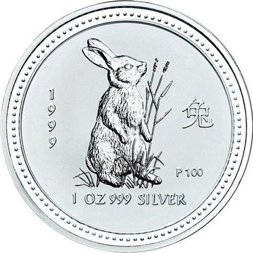 1999 series 1 - silver lunar rabbit