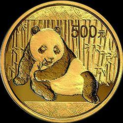 2015 chinese gold panda