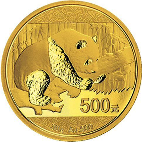 2016 30gram chinese gold panda