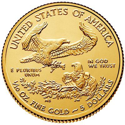 tenth oz american eagle gold bullion coin rev