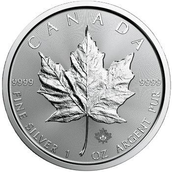 1 oz. Canadian Silver Maple Leaf Bullion Coin