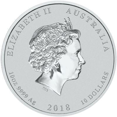 series I - silver lunar - obverse side