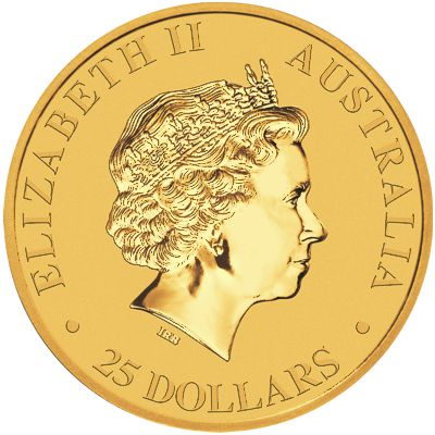 2018 - 1/4oz. Australian Gold Kangaroo - Obverse