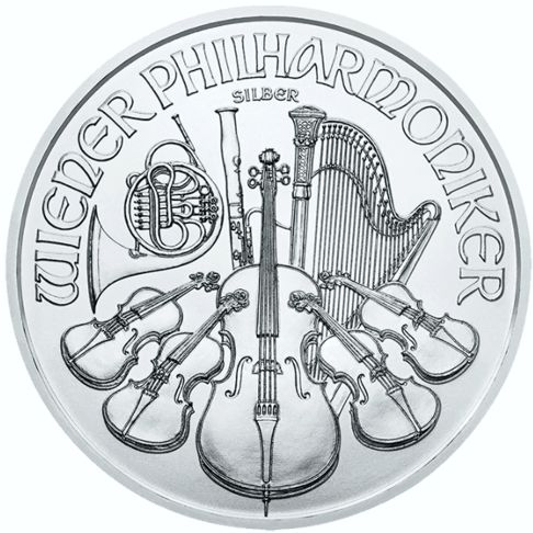 one oz silver philharmonic rev