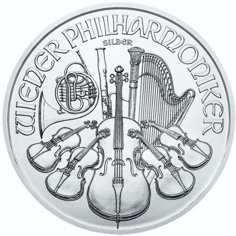 one oz silver philharmonic rev
