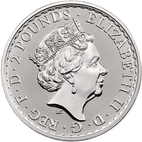 silver britannia obv