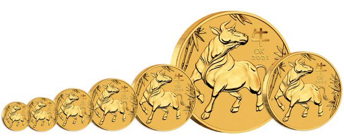 silver lunar bullion coin series