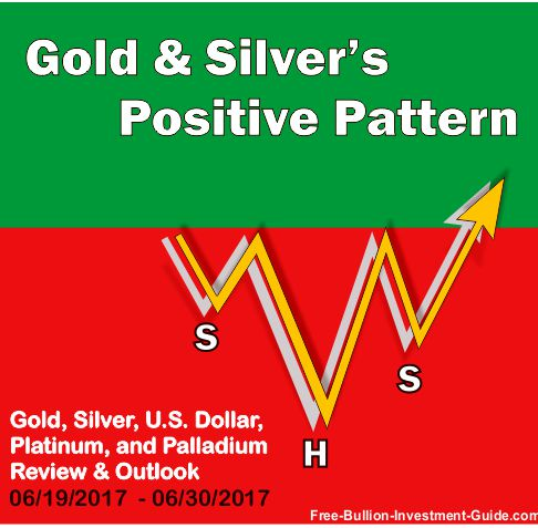 2017 - June 25th - Gold and Silver's Positive Pattern - Graphic