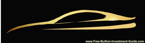 gold vehicle