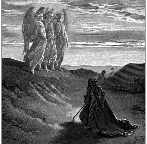 abraham with the angels