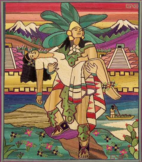 carrying iztaccihuatl