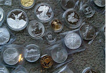 bullion coins - precious metals