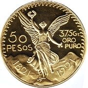 fifty peso gold coin
