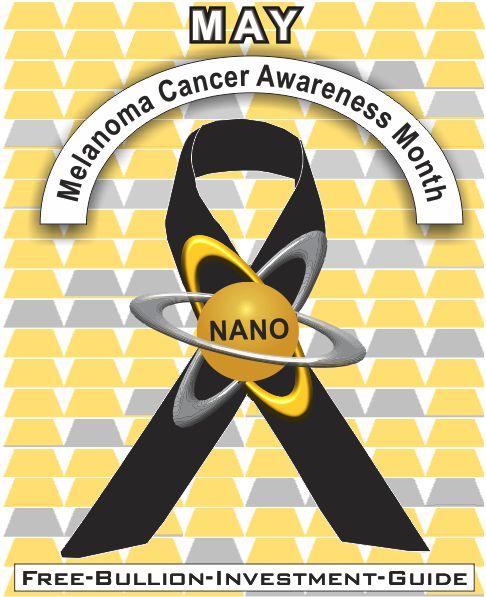 may melanoma cancer gold nano ribbon