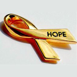 hope cancer ribbon