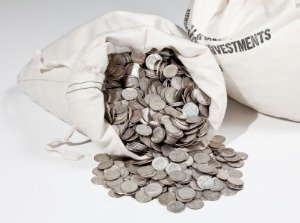 junk silver bag