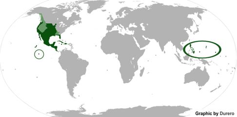 new spain map