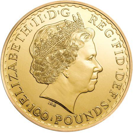 one oz gold britannia obv
