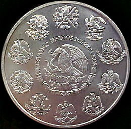 The Mexican Silver Libertad - Two oz