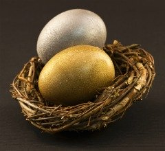 silver and gold nestegg