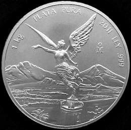 silver libertad one kilo