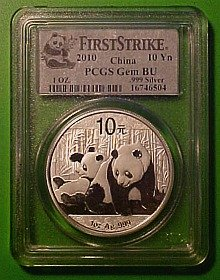 silver panda graded